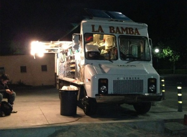 It must be authentic, because finding a photo is nearly impossible. La Bamba Taco Truck in Sonoma, courtesy of Yelp.
