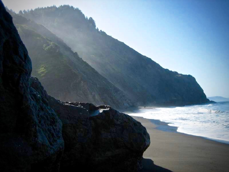 The Lost Coast is among Californias most rugged stretches of coastline. (Wendy Seltzer/Flickr)