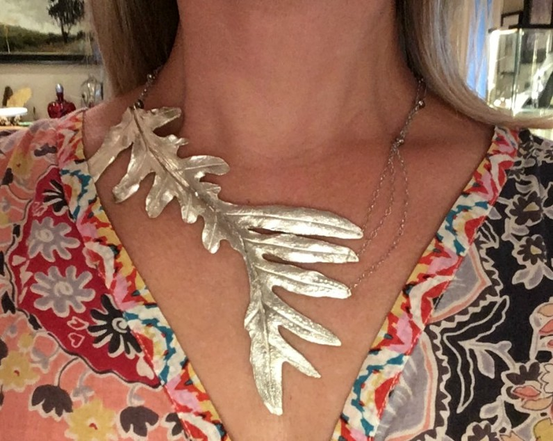 Fern Necklace by MIchelle Hoting. Photo Credit: Michelle Hoting