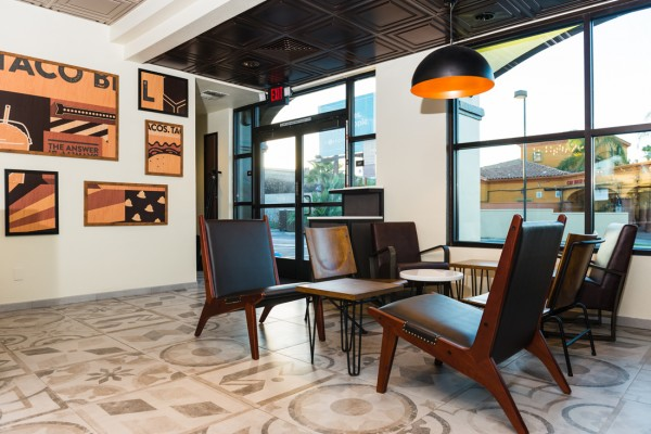 "California Sol (4101 Jamboree Road, Newport Beach.): The look is inspired by Taco Bell's California roots and the California lifestyle. ""It's our take on California modern design and style and blurs the lines between indoor and outdoor,"" Taco Bell said. Heritage (14042 Red Hill Ave., Tustin): The look is inspired by the chain's menu of Mexican-inspired food with a twist. ""This style enhances our Spanish Colonial Mexican heritage,"" Taco Bell said. Modern Explorer (2246 S. Grand Ave., Santa Ana): ""This rustic, modern style is a refined version of our Cantina Explorer restaurants,"" Taco Bell said. Urban Edge (303 W. Imperial Highway, Brea): ""This design represents international high street style done the Taco Bell way,"" Taco Bell said. Courtesy Taco Bell"