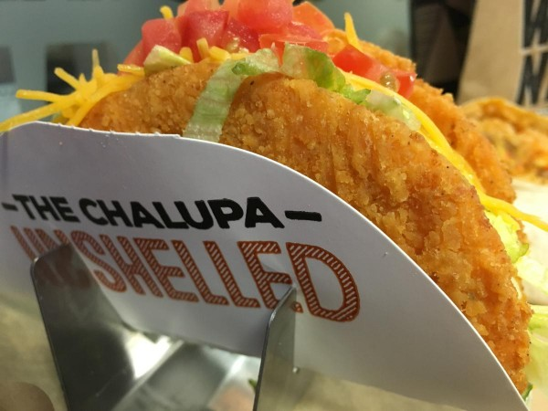 Naked Chicken Chalupa coming soon. Courtesy Taco Bell