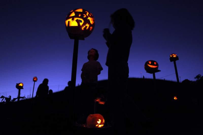 pumpkins pikes