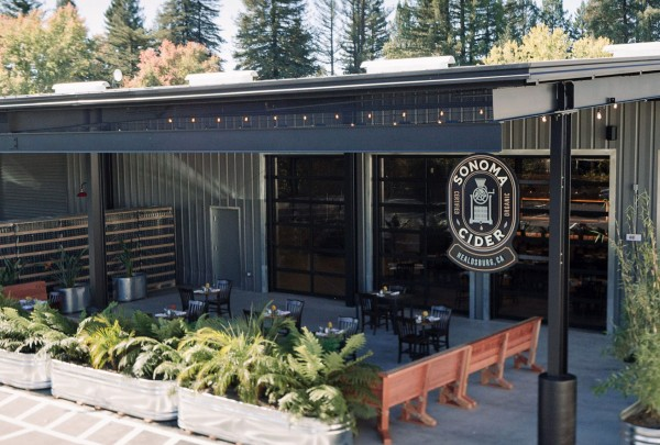 Sonoma Cider Taproom and Restaurant in Healdsburg. Photo: Gretchen Gause