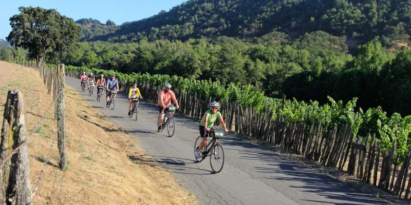 winetours.jpg Bike tour in Sonoma. (Image via winetours.com)