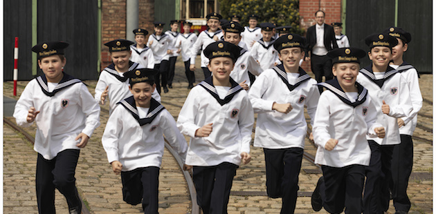 The Vienna Boys Choir will perform classical Christmastime pieces at Weill Hall, Green Music Center, on Sunday, November 27. (Photo courtesy of the Green Music Center)