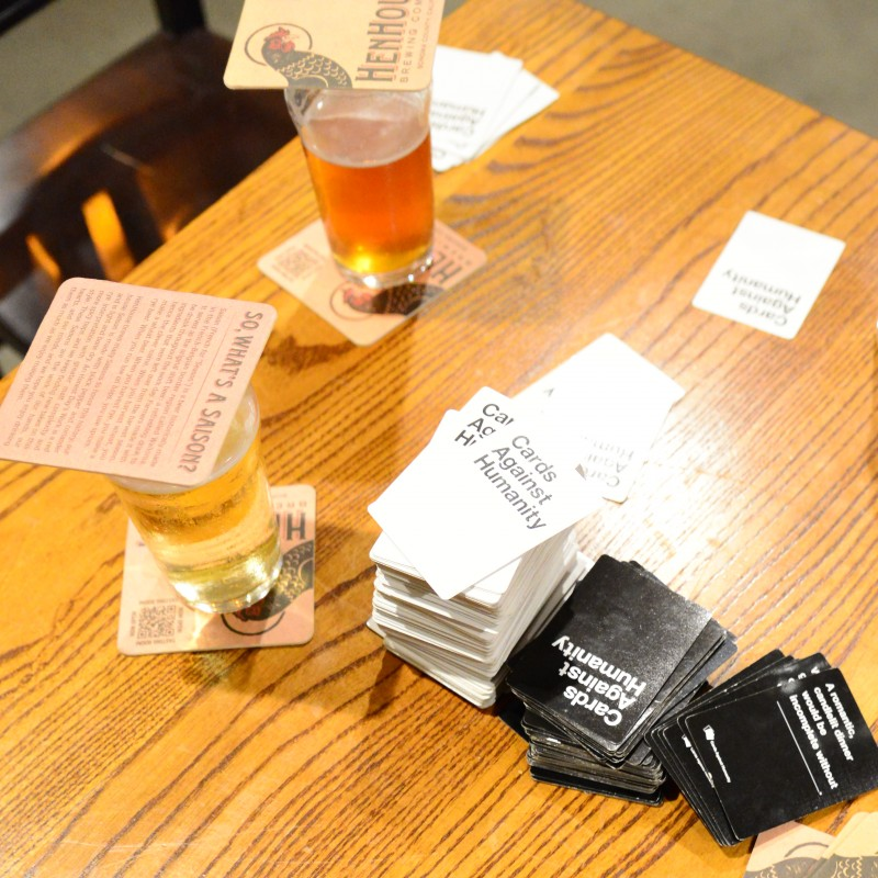 Cards Against Humanity at Local Barrel, Santa Rosa. (Photo by Tim Vallery)