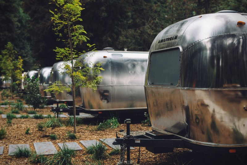 AutoCamp Russian River. (Photo courtesy of Melanie Riccardi)