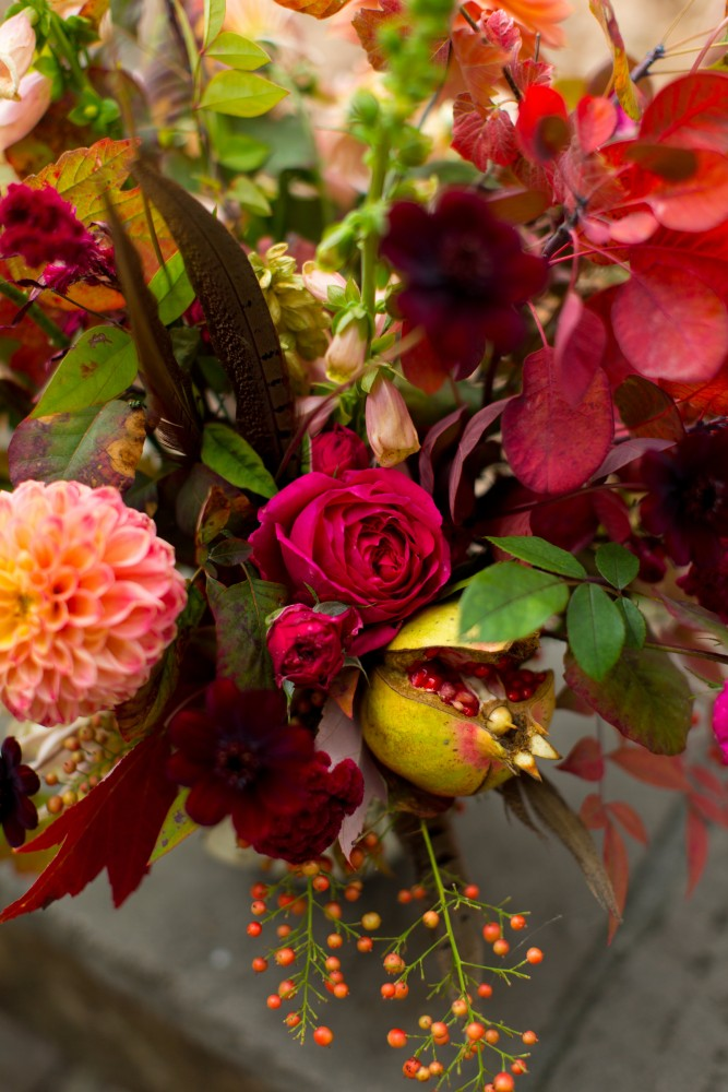 How To Create A Beautiful Flower Arrangement For Thanksgiving