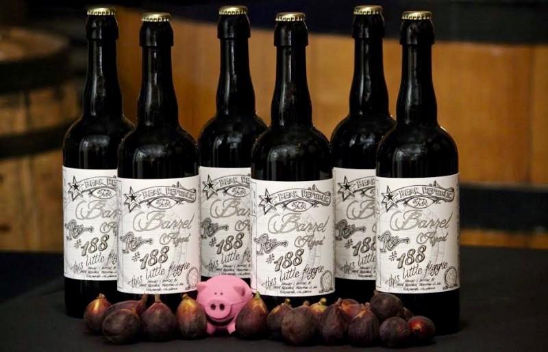 Bear Republic's Wild Club beers. (Photo Courtesy of Bear Republic Brewing Company)