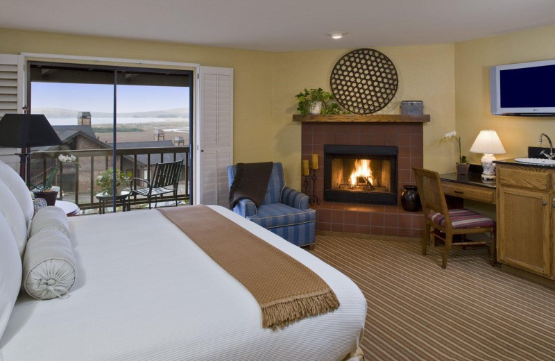 Room in the Bodega Bay Lodge. (Image courtesy of the Bodega Bay Lodge)