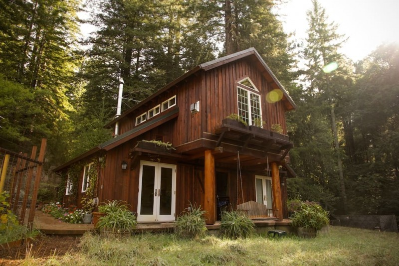 Redwood Cabin in Sebastopol.