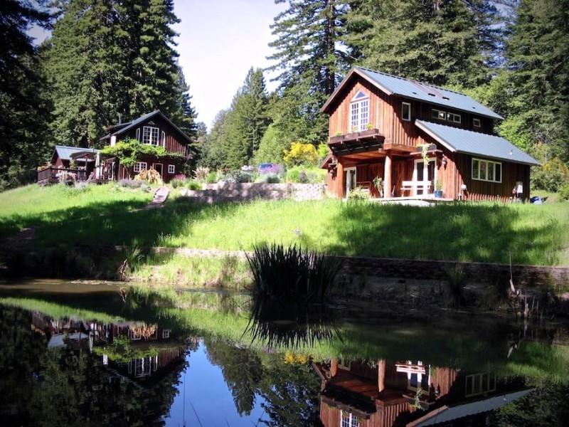 Redwood Cabin in Sebastopol.