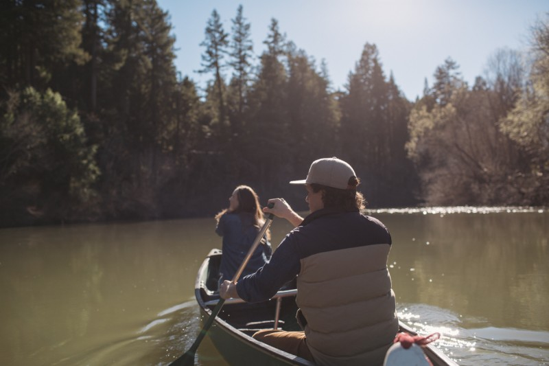 Canoeing at the Russian River. (Photo courtesy of autocamp.com)