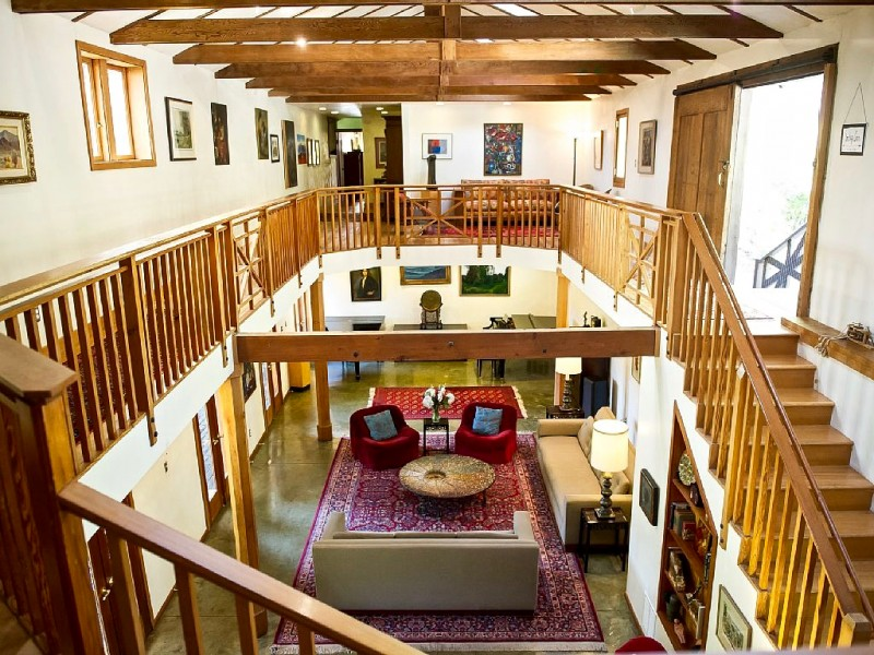 Luxe Lodge in Healdsburg.