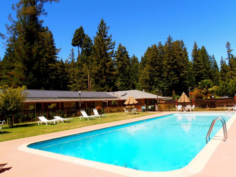Pool at Northwood Lodge. (Image courtesy of Northwood Lodge & Resort)