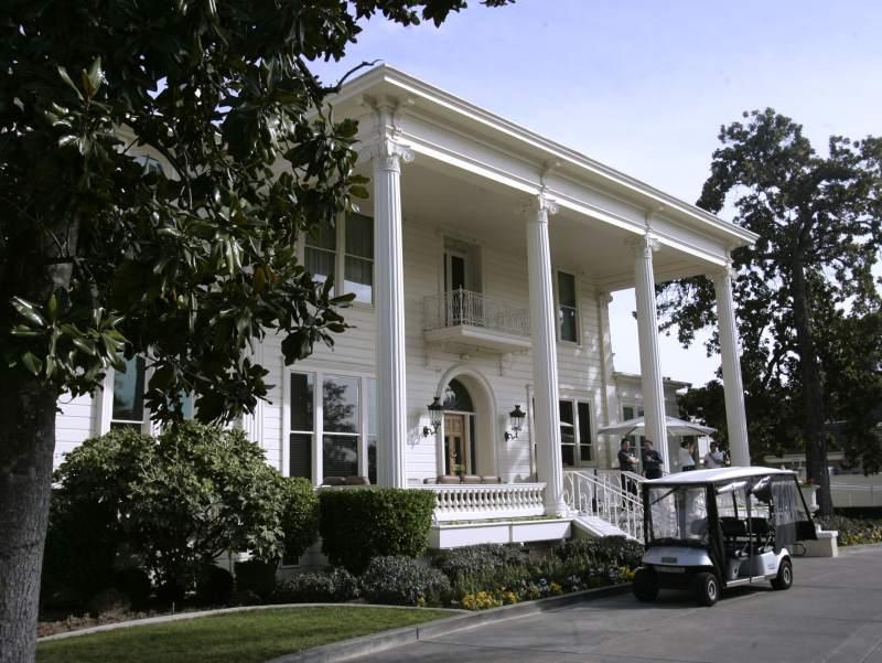 The Mansion at the Silverado Resort and Spa in Napa, Calif. (AP Photo/Rich Pedroncelli)