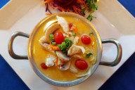 Coconut chicken soup at Thai Time in Santa Rosa. Heather Irwin/PD