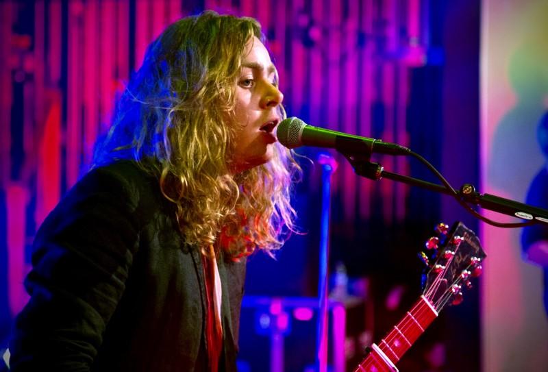 The Struts guitarist Adam Slack.