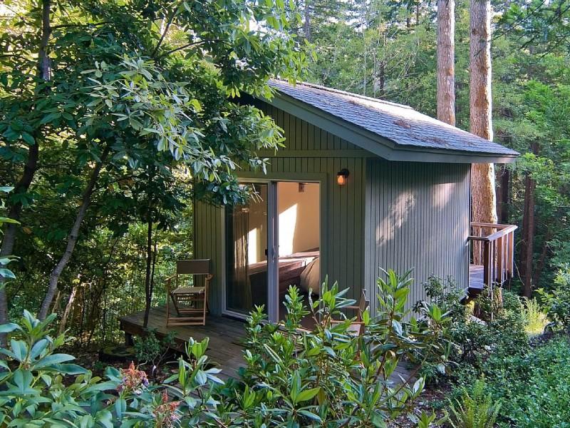 Yoga cottage.