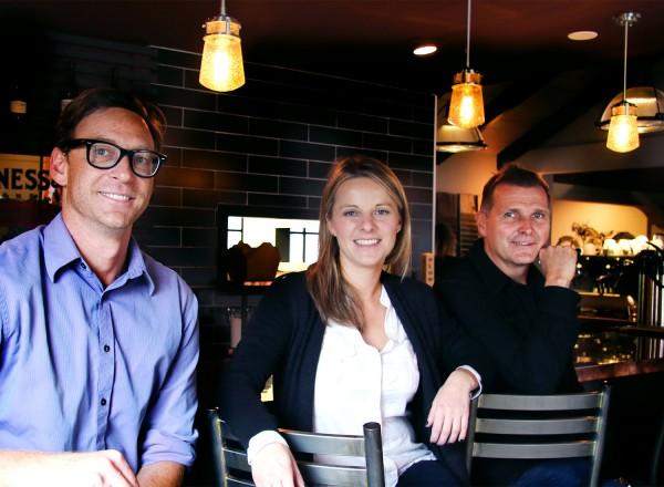 Dawid, Monika and Slawek Eggstravaganza at Zosia Cafe and Kitchen in Graton, a California and Eastern European restaurant. Heather Irwin/PD.