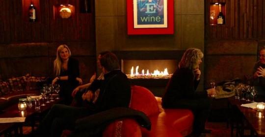 The fireplace at 1313 Main Restaurant in Napa. (Photo courtesy of 1313 Main Restaurant)