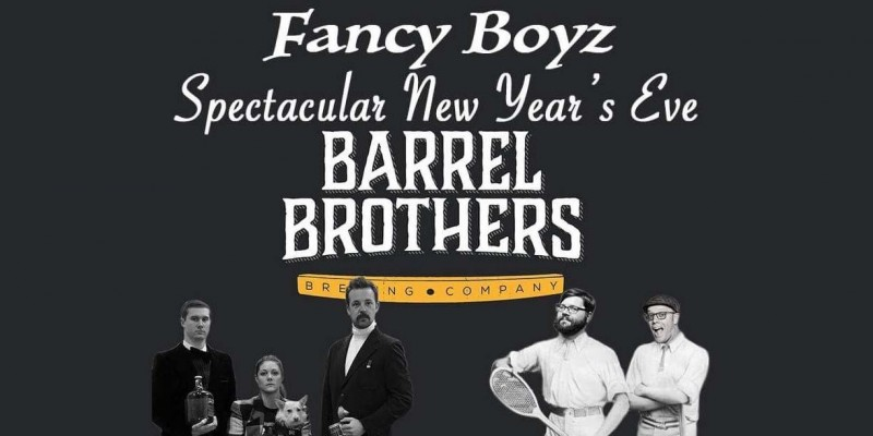 Barrel Brothers Brewing Company and the Fancy Boyz. (Photo courtesy of Barrel Brother Facebook)