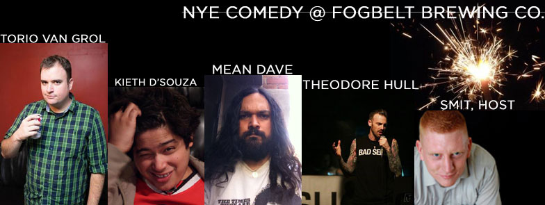 Fogbelts comedy show (Photo courtesy of Fogbelt Brewing's Facebook)