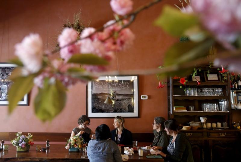 Della Fattoria in Petaluma. (Photo by Beth Schlanker)
