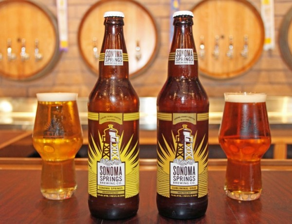 Sonoma Springs Brewing Co. bottle release. (Photo courtesy of Sonoma Springs Brewing Co.)