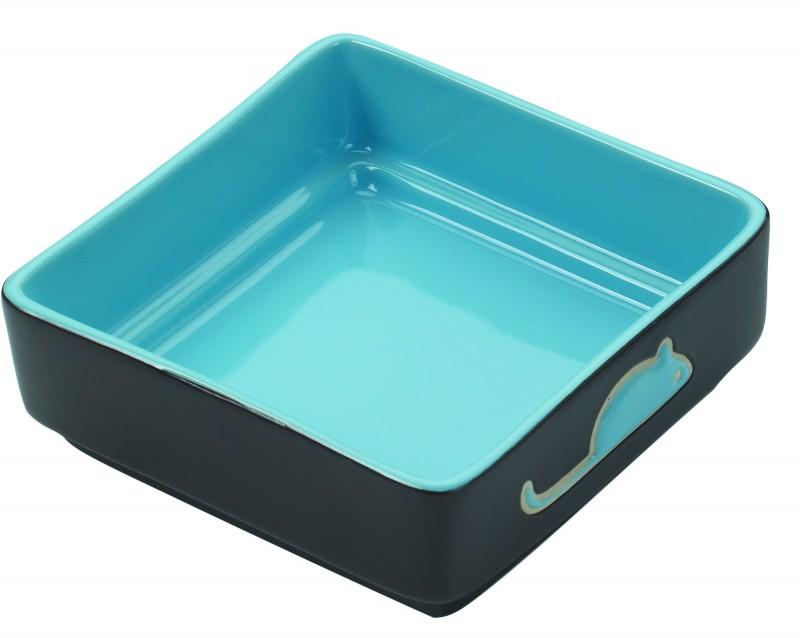 Cat Dish Blue