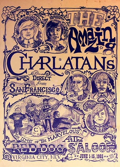 Charlatans poster.