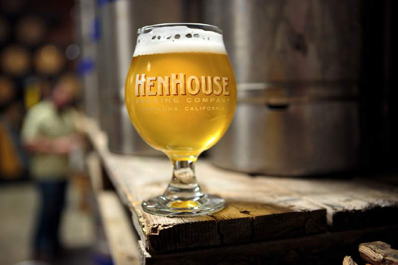 Henhouse Brewing Saison. (Photo courtesy of the Press Democrat)