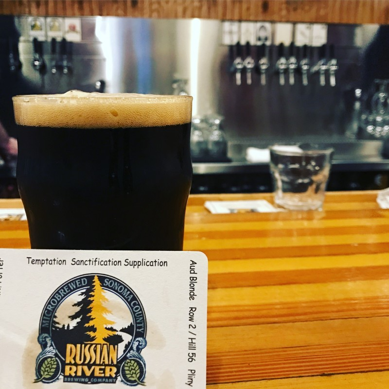 The Russian River Porter at Russian River Brewing Co. (Photo by Jess Vallery)
