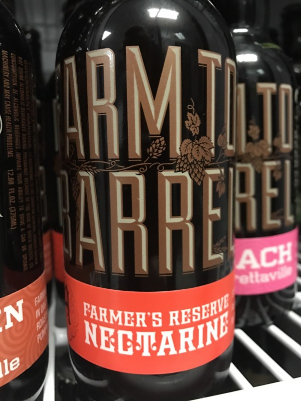 Almanac Beer Co.'s Nectarine, available at Beer Craft. (Photo by Jess Vallery)