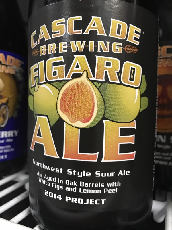 Cascade Brewing and Barrel House Figaro, available at Beer Craft. (Photo by Jess Vallery)