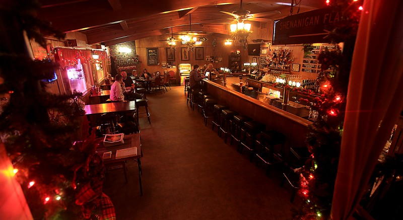 The Twin Oaks Roadhouse on Old Redwood Highway, Thursday Dec. 8, 2016 in Penngrove. (Kent Porter