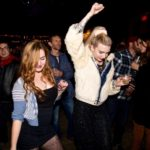 Crowd dances at HopMonk tavern in Sebastopol. (Estefany Gonzalez)