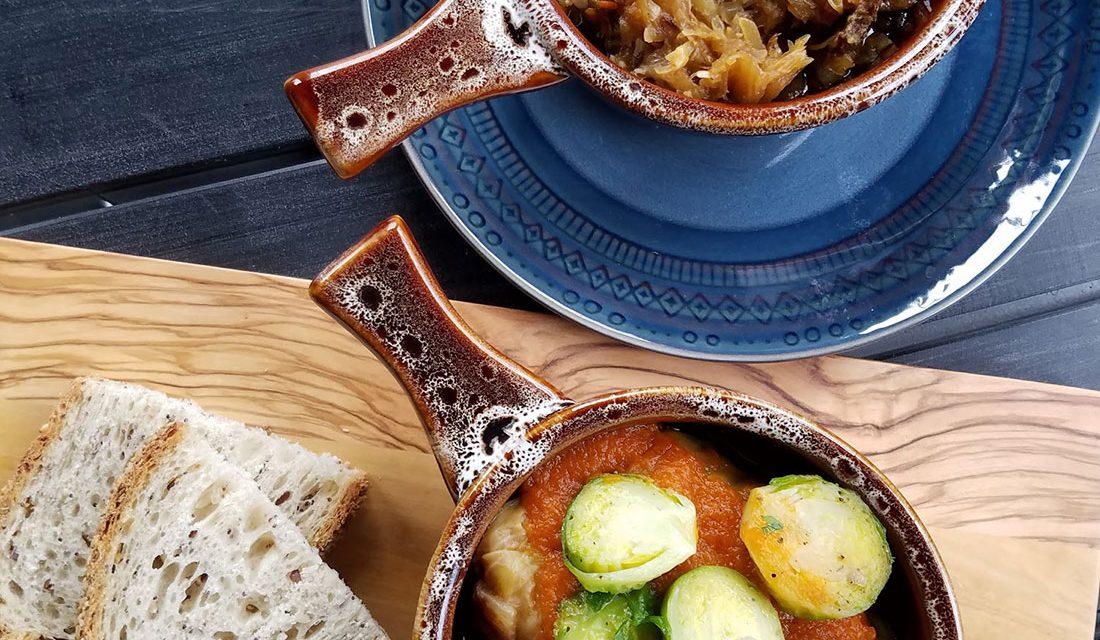 Zosia Cafe and Kitchen: Pierogies in Graton