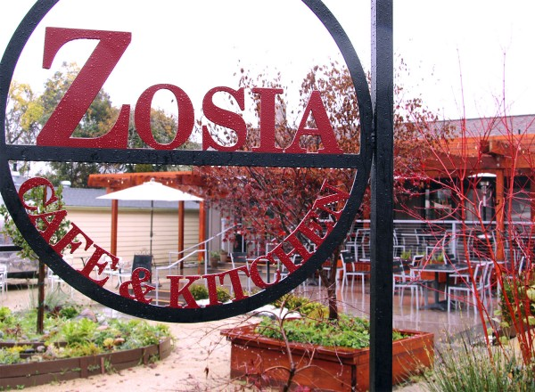 Zosia Cafe and Kitchen in Graton, a California and Eastern European restaurant. Heather Irwin/PD.