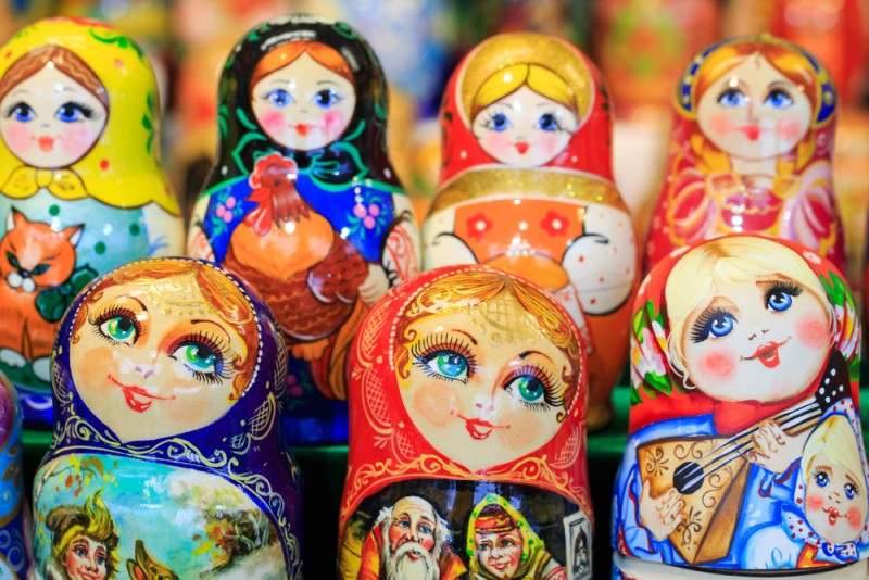 Matryoshka dolls will get a revamp at the Brew art show, Dev