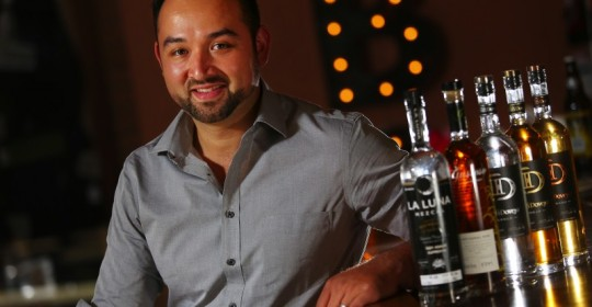 Sonoma entrepreneur Sal Chavez imports mezcal and other liquor products from his parents' homeland, Michoacan, Mexico, with his company Puente Internacional. (Christopher Chung)