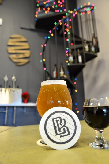 Beers on tap at Barrel Brothers. Grab a pint of enjoy a sampler of several beers. (Photo by Tim Vallery)