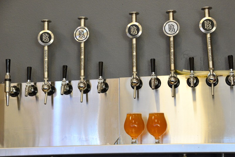 Barrel Brothers Brewing Company taproom in Windsor. (Tim Vallery)
