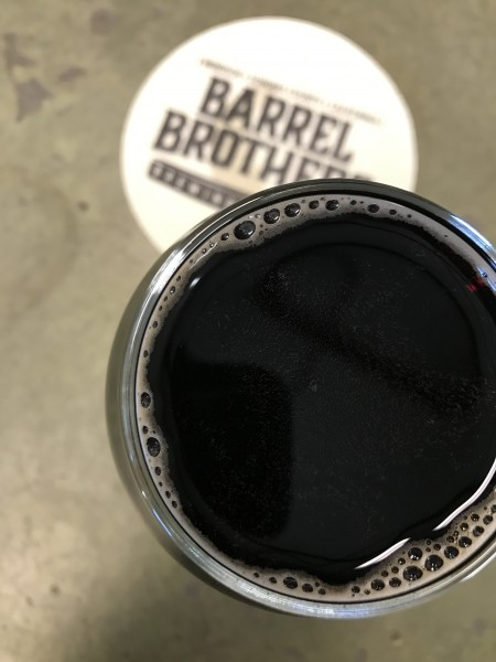 The Barrel Brothers Porter (photo by Jess Vallery)