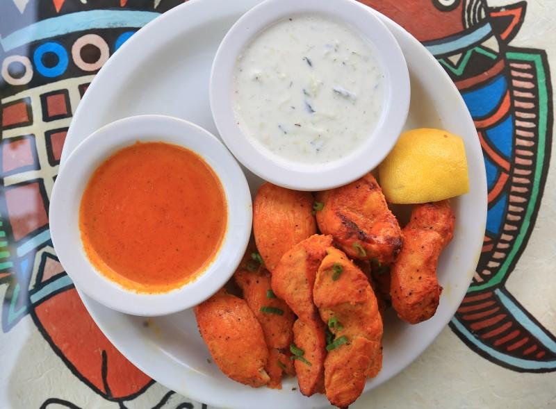 Chick Kabob at Himalayan Restaurant of Windsor, Wednesday April 22, 2015. (Kent Porter