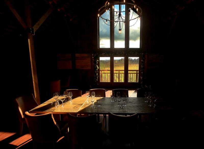 Upstairs tasting room. (Kent Porter)