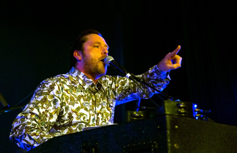 Monophonics performs at the inaugural Rivertown Ball, December 31. (Estefany Gonzalez)