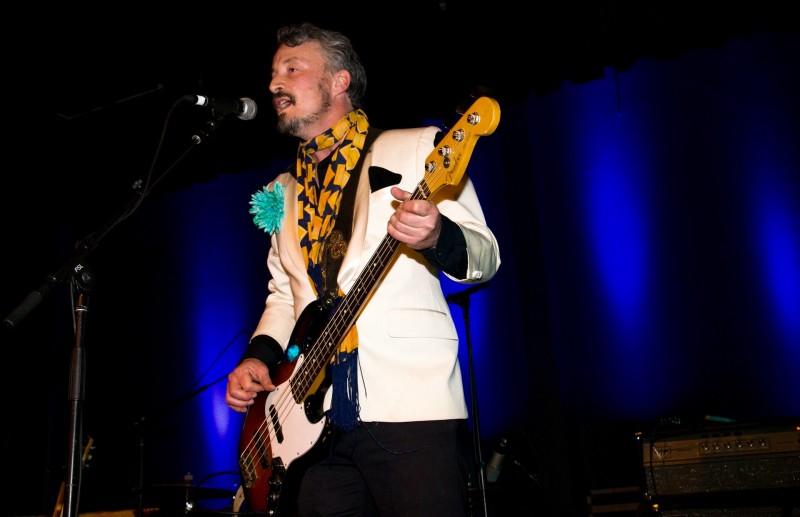 El Radio Fantastique performs at the inaugural Rivertown Ball, December 31. (Estefany Gonzalez)