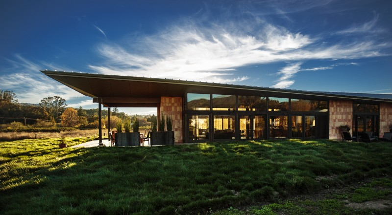 Couple Designs Gorgeous Green Home in Sonoma Valley