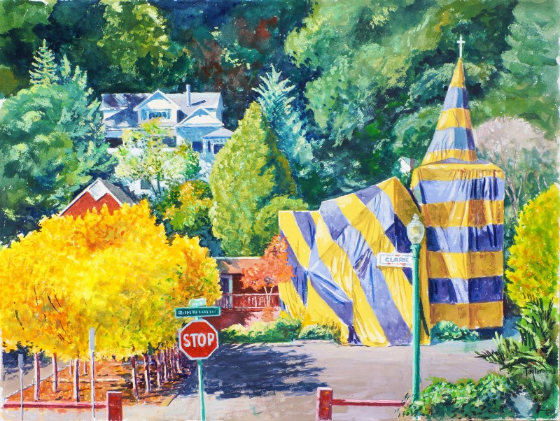Santa Rosa Artist's Work, Unseen for Decades, is Revealed and Celebrated in Local Exhibits